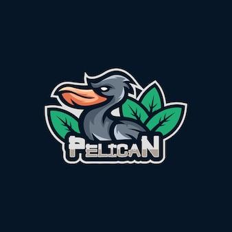 Pelican esports logo design