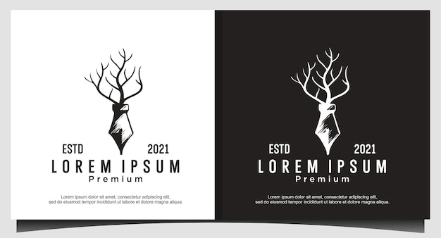 Pen and tree logo for book, scary movie logo design