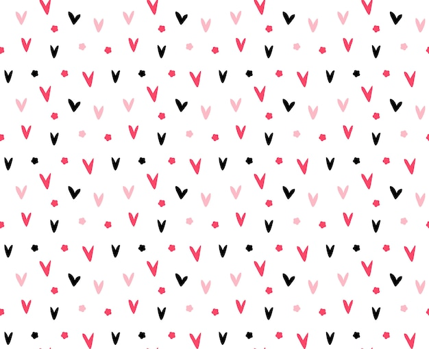 Pencil and eraser pattern background