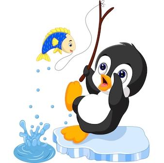 рыбалка пингвинов