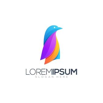 Penguin  logo illustration