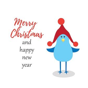 펭귄은 메리 크리스마스와 새해 복 많이 받으세요
