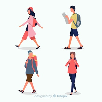 Walking Vectors, Photos and PSD files | Free Download