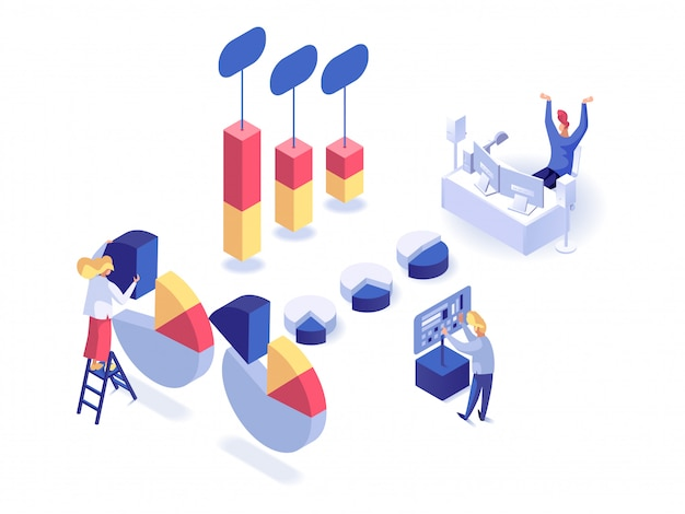 People analysts isometric