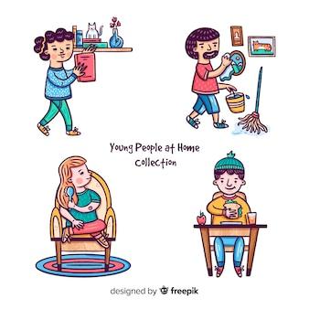 Люди дома