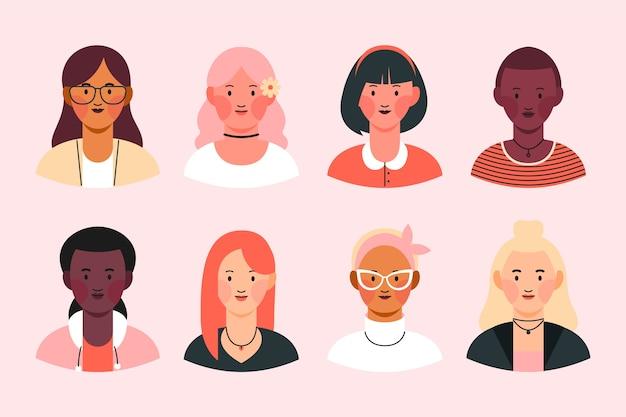 People avatars set