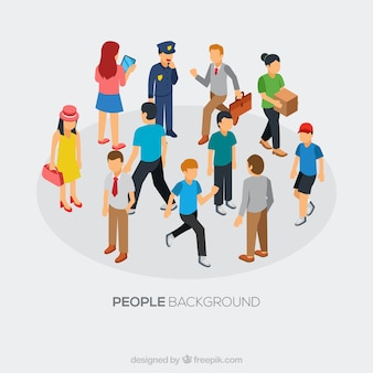 People background design