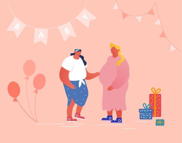 People celebration soon child birthday