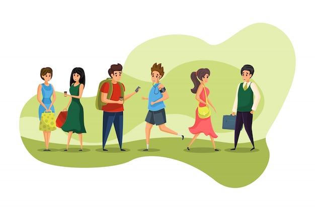 사람, 커뮤니케이션, 회의, 쇼핑, 비즈니스, 교육 개념