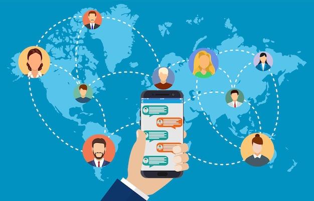 전 세계를 연결하는 사람들.