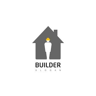 Логотип строительства людей