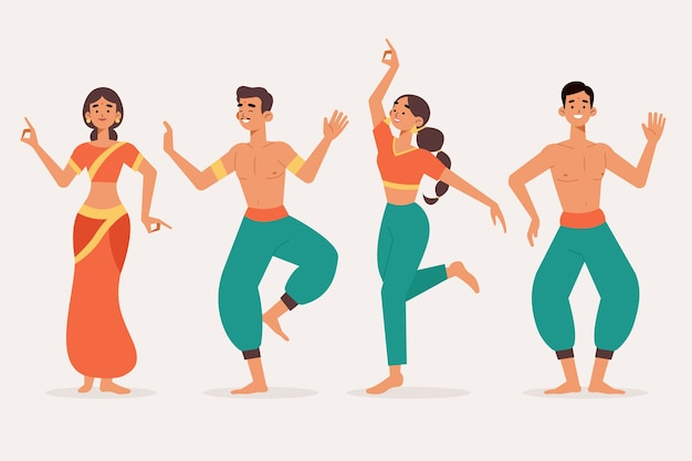 Persone che ballano bollywoow