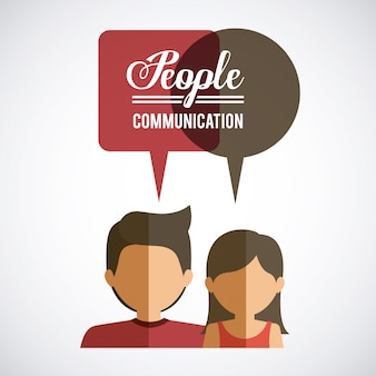People design, vector illustration.