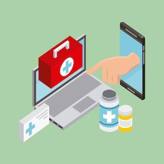 사람들이 디지털 건강