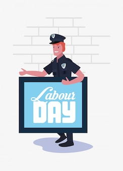 People labour day