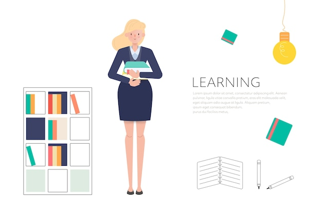 People in library to reading and learning concept.