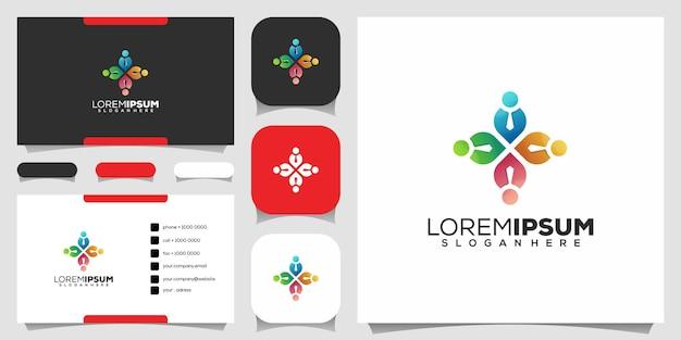 Дизайн логотипа людей