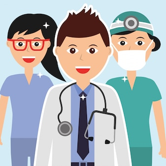 People medical profession