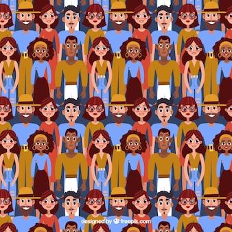 다른 종족과 사람들 패턴