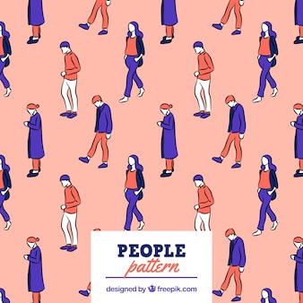 People pattern