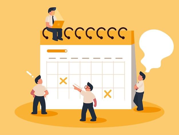 Люди, планирующие работу