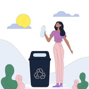人のリサイクルのコンセプト
