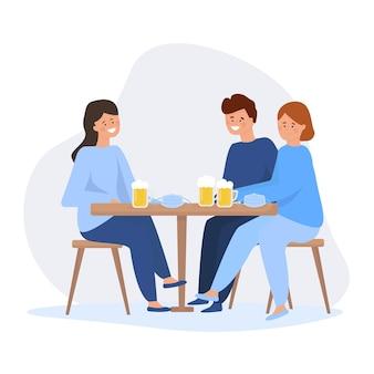 Люди видят друг друга после самоизоляции