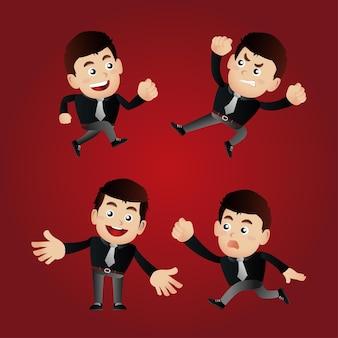 Набор людей - бизнес - набор бизнесменов