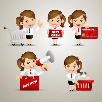 People set - business -sale