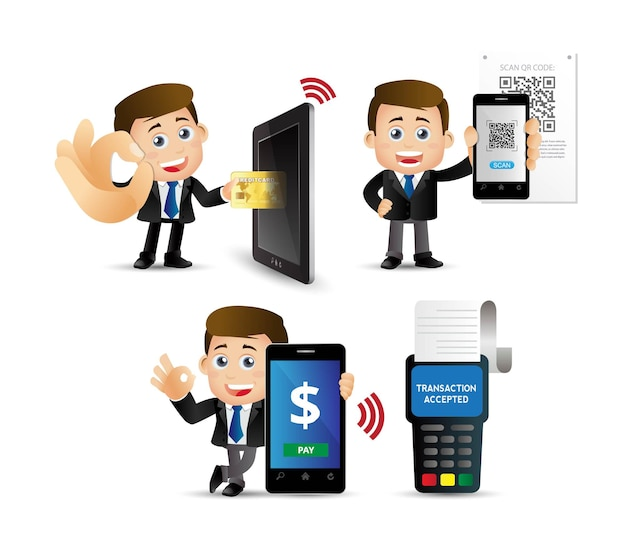 People set.  mobil payments