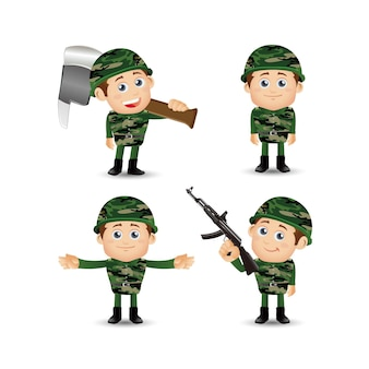 People set  profession  army