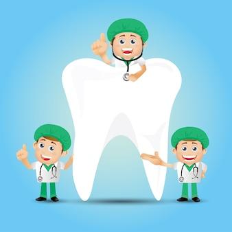 People set profession dentist