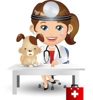 人々は職業医師を設定します