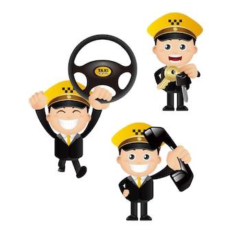 People set  profession  driver