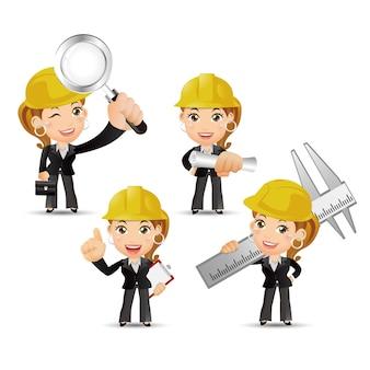 People set  profession  engineer set