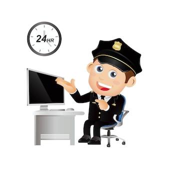 人々は職業警官を設定します