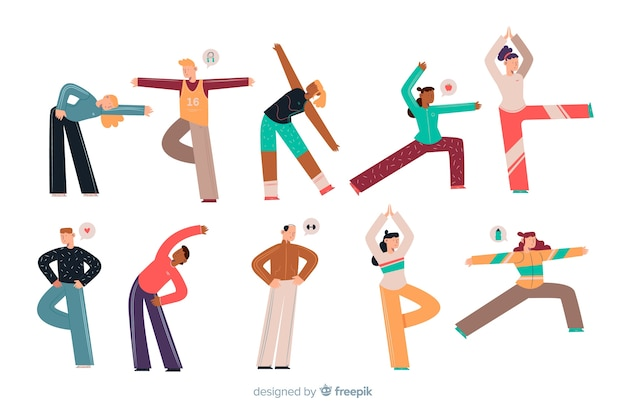 picture relating to Stretching Charts Free Printable called Stretching Vectors, Pictures and PSD data files Absolutely free Obtain