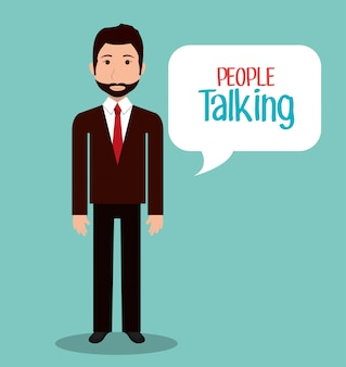 People talking