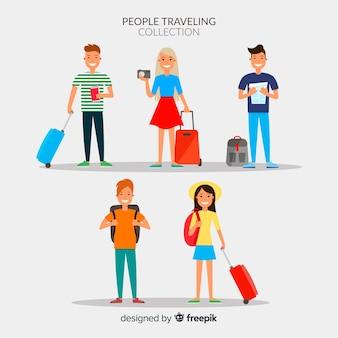 사람들이 여행 컬렉션