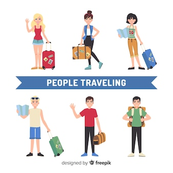 People traveling