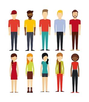 人々の歩行設計
