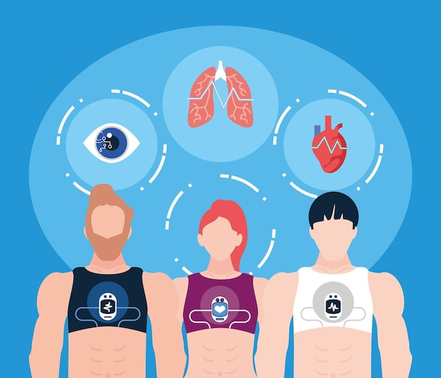 People and wearable health