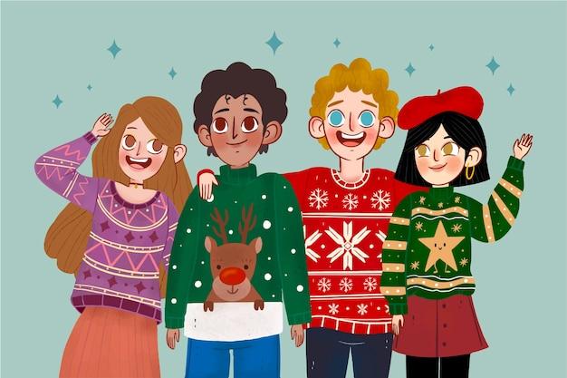 Люди в уродливых свитерах