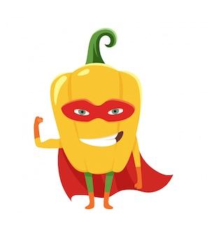 Pepper superhero