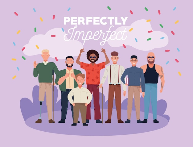Совершенно несовершенные люди группируют персонажей с конфетти в лагере