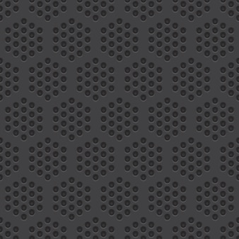 Perforated material seamless pattern background