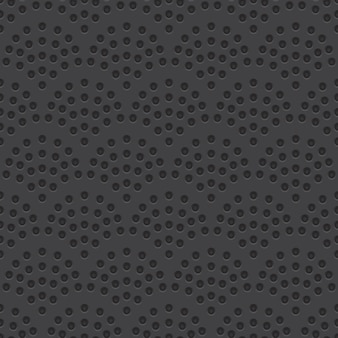 Perforated material vector seamless pattern