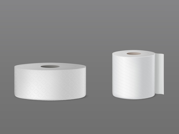 Perforated toilet paper rolls, disposable kitchen towels, wiper for dust cleaning
