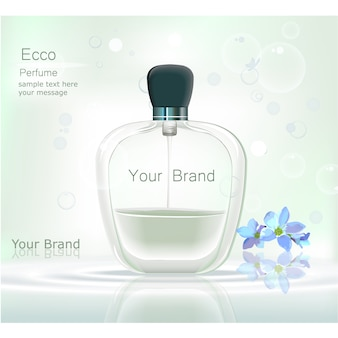 Perfume background design