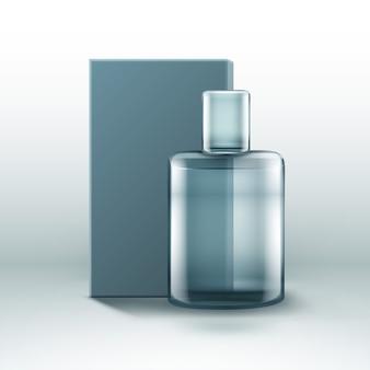ボックス付き香水瓶